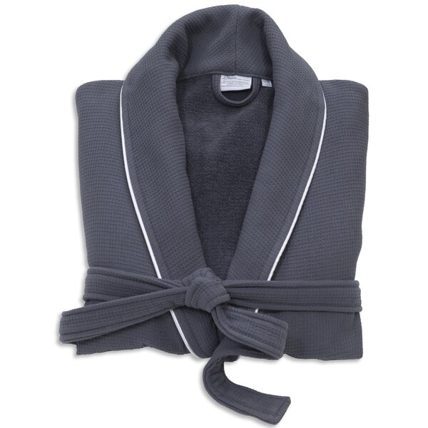 Gautier 100% Turkish Cotton Waffle Terry Bathrobe by The Twillery Co.